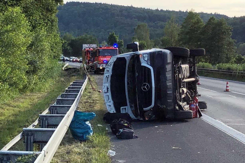 Unfall A66 Heute Wächtersbach